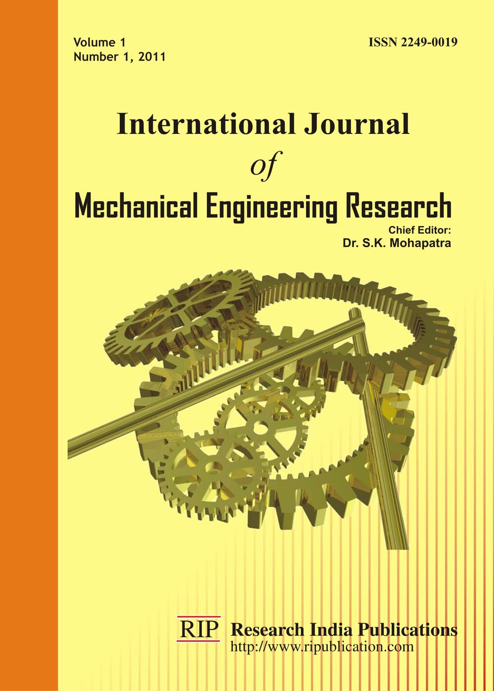Mechanical engineering research paper